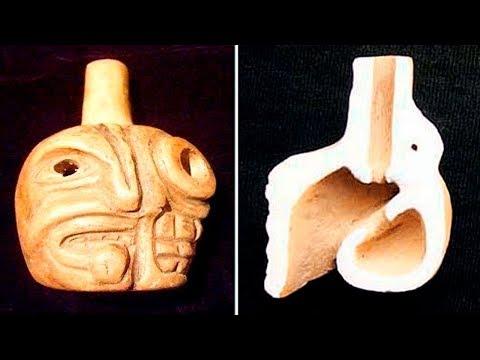 Этот Ацтекский Свисток Издаёт Самый Страшный Звук, Который Вы Когда Либо Услышите