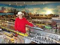 Greatest Female Private Model Railroad RR O Scale Gauge Lionel Layout Ever? Meet The Train Lady