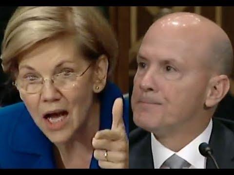 """EQUIFAX IS MAKING MONEY OFF ITS OWN SCREWUP!!!"" Elizabeth Warren DESTROYS Equifax's Ex-CEO"