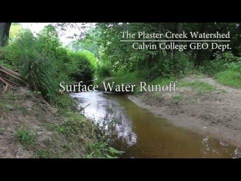 Surface Water Runoff of Plaster Creek