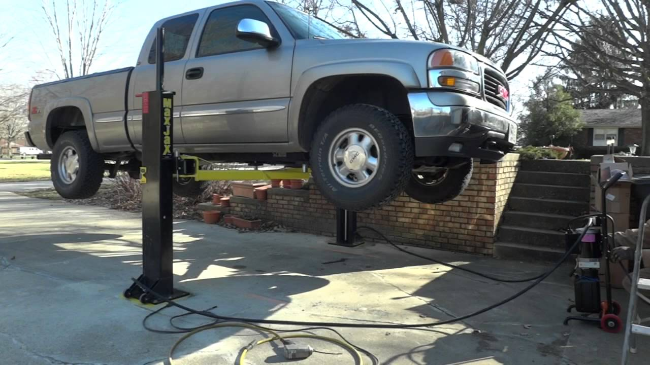 Does anyone have a portable auto lift? - The Chicago Garage