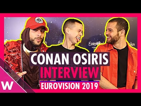 Conan Osiris (Portugal) interview @ Eurovision 2019 second rehearsal