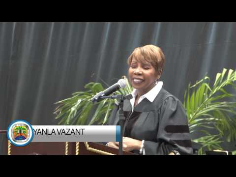 University of the Virgin Islands St.Thomas Campus 53rd Commencement Ceremony- Keynote Address