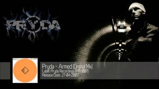 Pryda - Armed (Original Mix) ‎[PRY007]
