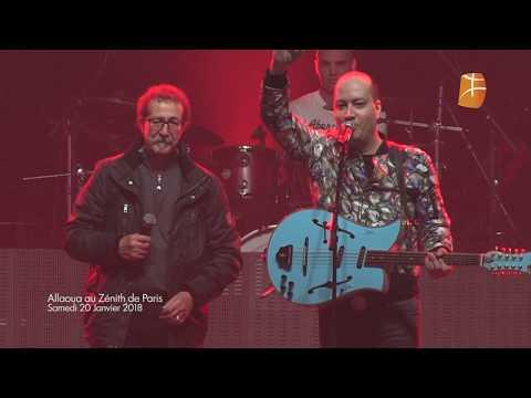 Le final du Concert de Mohamed Allaoua au Zénith de Paris