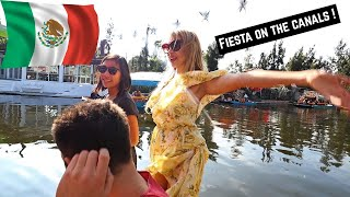 Xochimilco- The VENICE CANALS of Mexico City ? (MUST VISIT) !