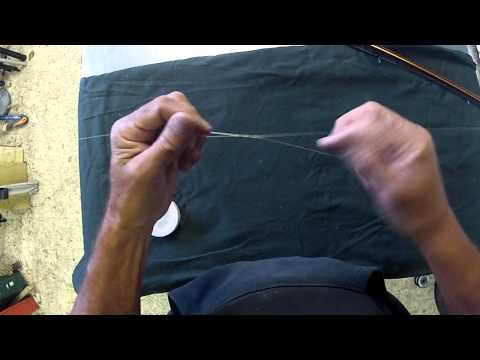 How To Tie A Float Stop Knot With Ed Schliffke