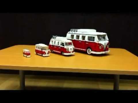 lego 10220 4type volkswagen t1 camper van youtube. Black Bedroom Furniture Sets. Home Design Ideas