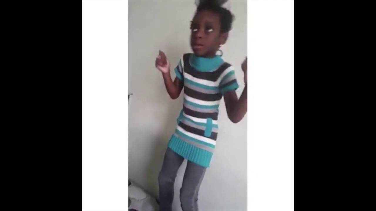 little black girl dancing and hitting the dab - youtube