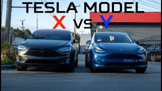 tesla Model Y vs Model X Review - Which one is better?