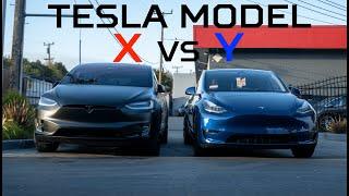 tesla Model Y vs. Model X - What's Better?