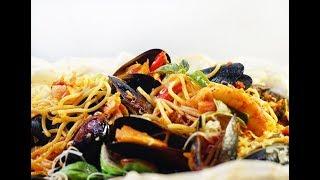Как приготовить спагетти в мешочке