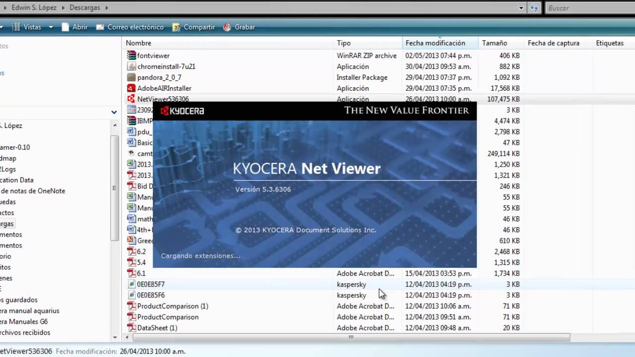 kyocera net viewer