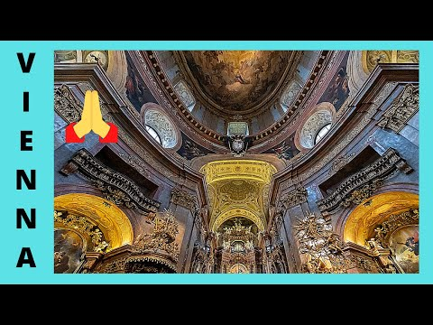 VIENNA: Inside the magnificent BAROQUE CHURCH of ST PETER (Austria)