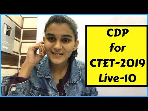 Best CDP Questions for CTET-2019   Live-10