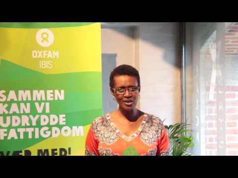 Winnie Byanyima, Oxfam International - UN SG meets with civil society on Paris Agreement