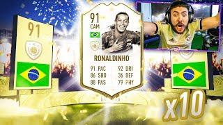 OMG 10 MID ICON PACKS!! NO WAY!! FIFA 20