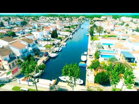1 Hour Drone Flying Costa Brava, Spain By Drone With Relaxing Music For Sleep
