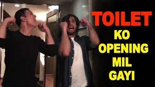 Toilet Ek Prem Katha Ko Opening Mil Gayi   Ranveer Singh And Akshay Kumar's Crazy Dance