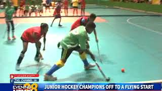 JUNIOR HOCKEY CHAMPIONS OFF TO A FLYING START-13/10/2018