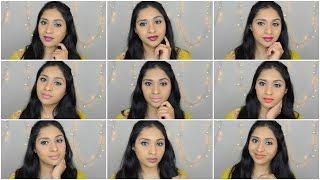 wet n wild megalast lipsticks swatches 9 shades   deepikamakeup