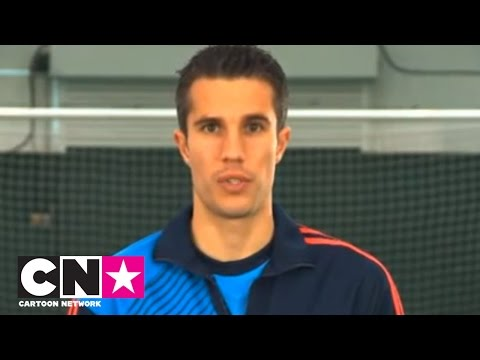 Robin van Persie Football Competition | CN Academy | Cartoon Network