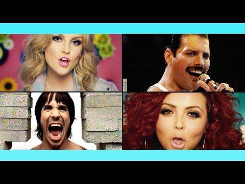 Queen / Little Mix / Joan Jett / RHCP - Rock'N'Roll Wings!  (Robin Skouteris Mix)