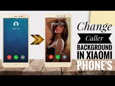 Trick To Change Call Screen Background Wallpaper In All Xiaomi Device |  2018 Trick