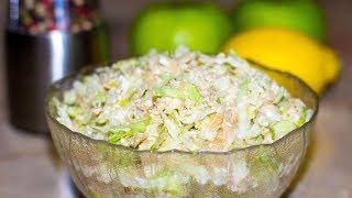 Диетический салат с фетой. Простой и очень быстрый рецепт.