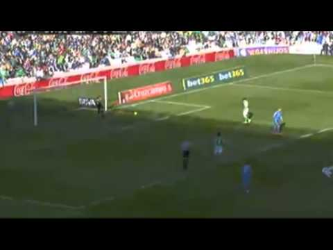 Cristiano Ronaldo AMAZING SHOOT GOAL - Real Betis vs Real Madrid 0 - 4 | 18-01-2014