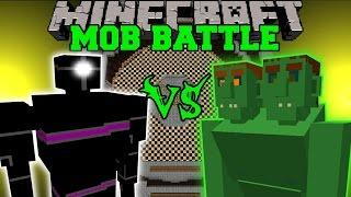 PUNCHING ROBOT VS END OGRE & DINOSAURS - Minecraft Mob Battles - Mods