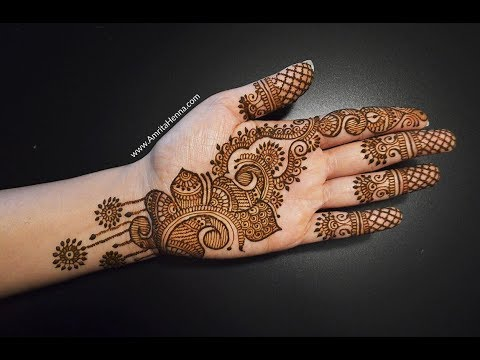 RAMAZAN SPECIAL MEHNDI HENNA DESIGN | NEW BEAUTIFUL EID MEHENDI 2018