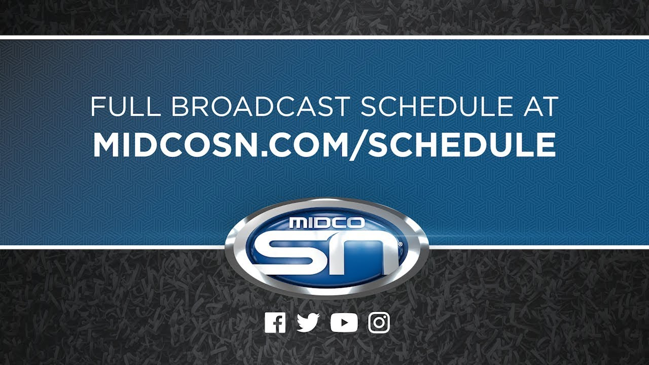 Schedule, Midco Sports Network, MidcoSN, Midcontinent