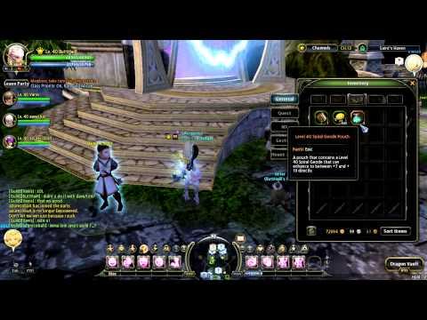 Dragon Nest LvL 40 epic geo Pouch