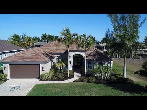 Must see Gulf access home  on 120' wide canal
