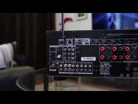 Onkyo TX-NR646 7 2 Channel Receiver Demo - YouTube