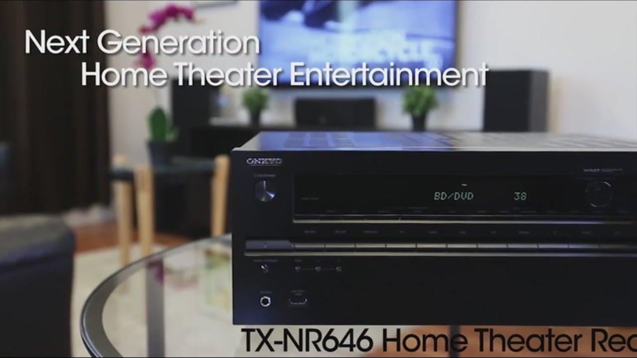 Onkyo TX-NR646 7 2 Channel Receiver Demo