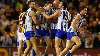 Round 16, 2014 - North Melbourne v Hawthorn highlights