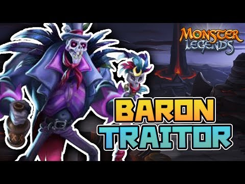 BARON TRAITOR - TRAIT DISABLER - Monster Legends Analisis