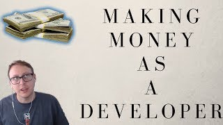 Let's talk about how you can make money as a developer! in this video i discuss with dylan from coding tutorials 360 the many ways de...