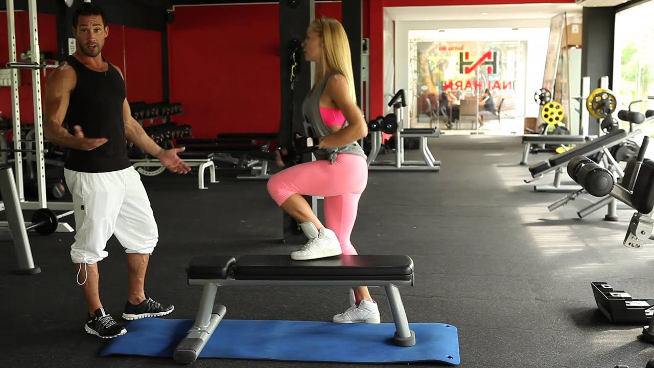 HIT Exercise: Side Step Up - YouTube  HIT Exercise: S...