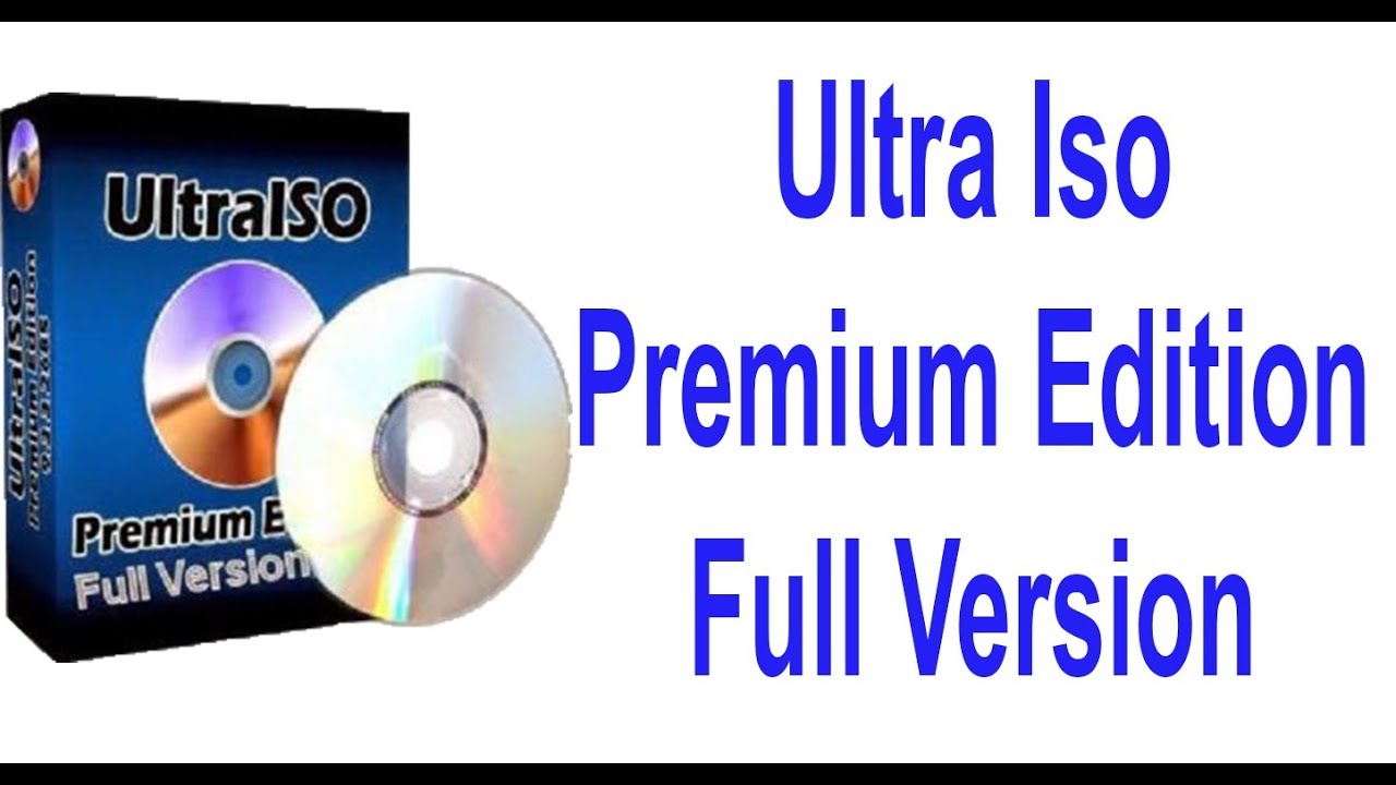 ultraiso with crack for windows 7
