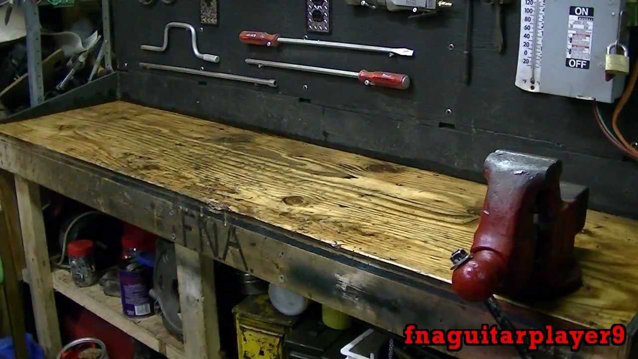 Workbench Overhaul Part 2 Of 3 Cleaning Finishing Wood
