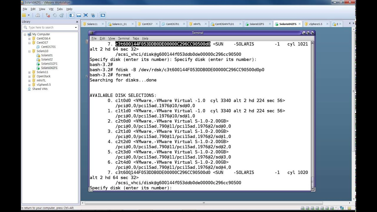 Creating a ZFS Volume as a iSCSI LUN on Solaris 10