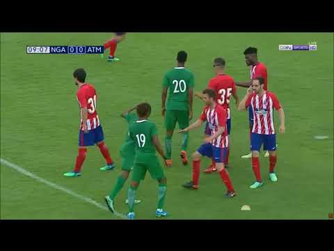 Nigeria vs. atletico madrid [first half] (international friendly)