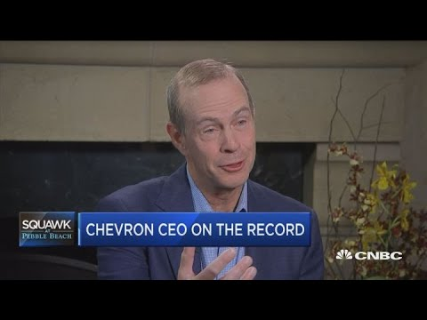 Chevron CEO Michael Wirth on the state of the energy sector