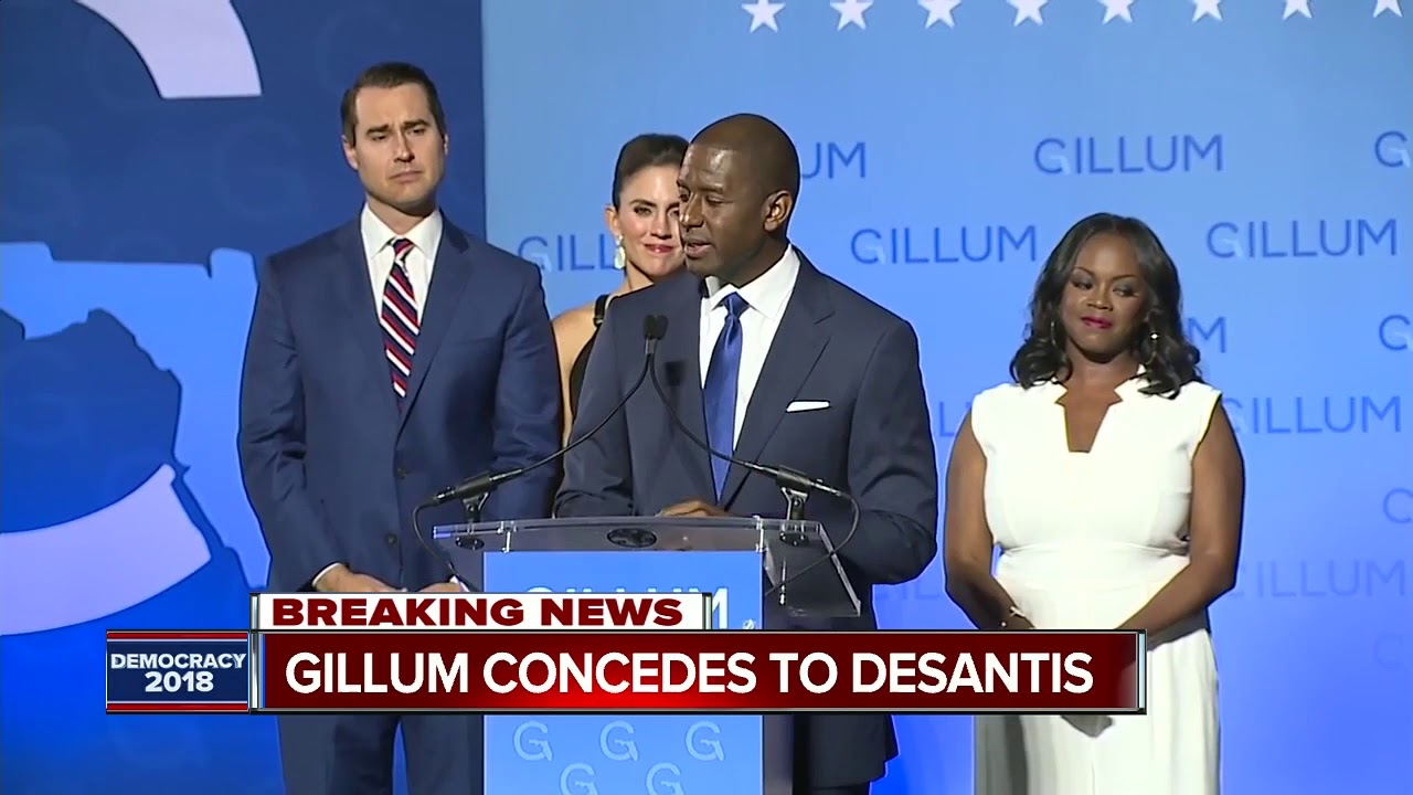 Not This Time: Andrew Gillum Loses His bid to become first Black Governor of Florida