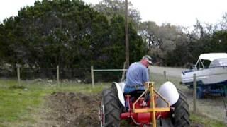 Ford 2N Plowing
