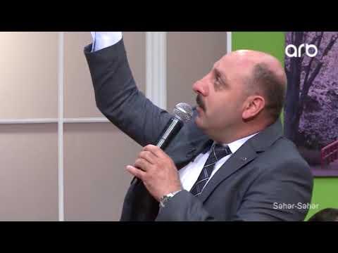 Mehmet Nuri Parmaksız-Kelebek Ömrü Şiiri Azerbaycan ARB TV Seher Seher Programı