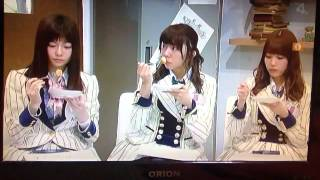 TOS45周年AKB48出演 2015年2月22日放送 島崎遥香 加藤玲奈 中村麻里子 ...